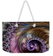 Fractal Spiral 2 - A Fractal Abstract Weekender Tote Bag