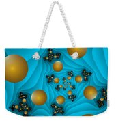 Fractal The Blue Depth Weekender Tote Bag