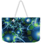 Fractal Time Travel Weekender Tote Bag