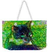 Fractalias Feline Weekender Tote Bag