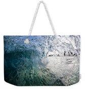Fractured Tube. Weekender Tote Bag by Sean Davey