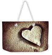 Imprint On My Heart Weekender Tote Bag