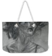 Gathering Strength - Original Charcoal Drawing - Contemporary Impressionist Art Weekender Tote Bag