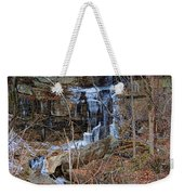 Fragility Of Ice Weekender Tote Bag