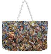 Fragmented Fall - Square Weekender Tote Bag