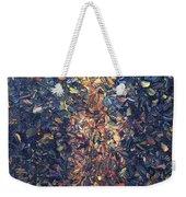 Fragmented Flame Weekender Tote Bag