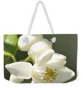 Fragrant Orange Blossoms Weekender Tote Bag