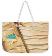 Frame With Postcards Weekender Tote Bag by Amanda Elwell