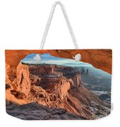 Framed Canyon Weekender Tote Bag