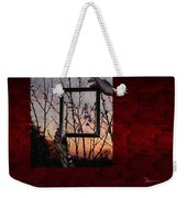 Framed Cherry Blossoms - Featured In Comfortable Art And Nature Groups Weekender Tote Bag