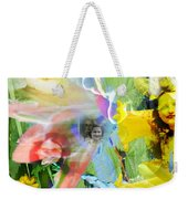 Framed In Flowers Weekender Tote Bag
