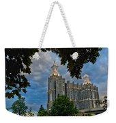 Framed Temple Weekender Tote Bag