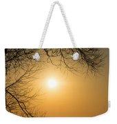 Framing The Golden Sun Weekender Tote Bag