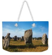France Brittany Carnac Ancient Megaliths  Weekender Tote Bag