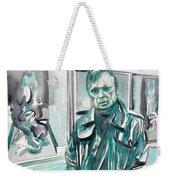 Francis Bacon Watercolor Portrait.3 Weekender Tote Bag