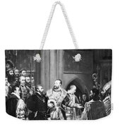 Francis I & Charles V Weekender Tote Bag
