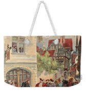 Francis I Received By Estienne Weekender Tote Bag