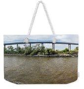 Francis Scott Key Bridge - Pano Weekender Tote Bag