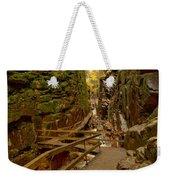 Franconia Notch Flume Gorge Boardwalk Weekender Tote Bag