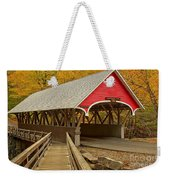Franconia Notch Flume Gorge Bridge Weekender Tote Bag