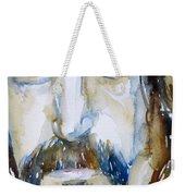 Frank Zappa Watercolor Portrait.2 Weekender Tote Bag