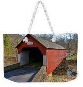Frankenfield Covered Bridge Weekender Tote Bag