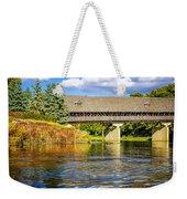 Frankenmuth Covered Bridge Weekender Tote Bag