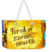 Frankenstein's Monster Turns Activist Weekender Tote Bag