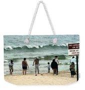 Frankfort Beach Weekender Tote Bag