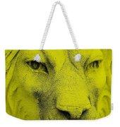 Frankie Lion Yellow Weekender Tote Bag