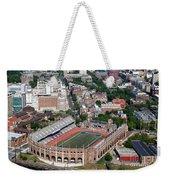 Franklin Field University City Pennsylvania Weekender Tote Bag by Bill Cobb