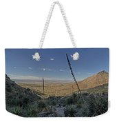 Franklin Mountains Landscape 4 Weekender Tote Bag