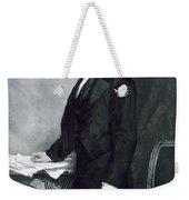 Franklin Pierce Weekender Tote Bag by George Healy