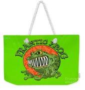 Frantic Frog Weekender Tote Bag