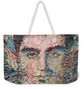 Franz Kafka Oil Portrait Weekender Tote Bag