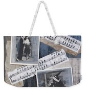 Fred And Ginger Collage Weekender Tote Bag