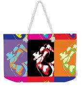 Freddie Mercury Pop Art Weekender Tote Bag