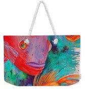 Freddy Fish And Friends Weekender Tote Bag