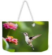 Free As A Bird Hummingbird Weekender Tote Bag