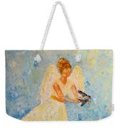 Free At Last, Angel Weekender Tote Bag