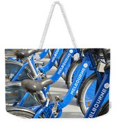 Free Bicycle System In Melbourne Australia Weekender Tote Bag