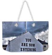 Free Derry Wall Weekender Tote Bag