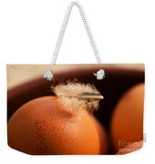 Free-range Eggs Weekender Tote Bag