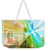Free Spirit Dreamscape - Within Border Weekender Tote Bag