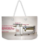 Freedom To Freedom From Weekender Tote Bag