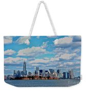 Lower Manhattan Weekender Tote Bag