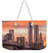 Freedom Tower Weekender Tote Bag