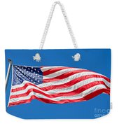 Freedom American Flag Art Prints Weekender Tote Bag