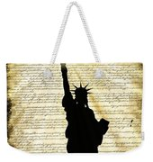 Freedoms Light Weekender Tote Bag