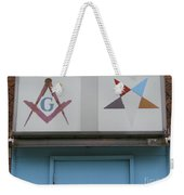 Freemasons Weekender Tote Bag